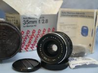 *MINT*NEW*UNUSED* Mamiya Sekor CS Bayonet 35mm 2.8 Lens -BOXED- + Inst £29.99